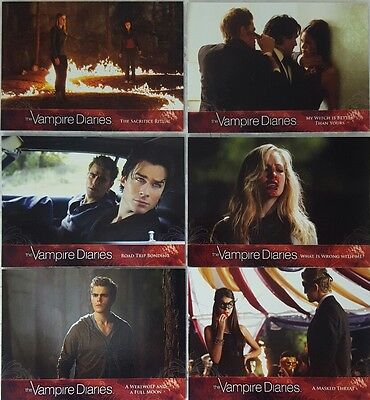 the VAMPIRE DIARIES Seson 2 TRADING CARD SET OF 69 Cryptozoic 2012
