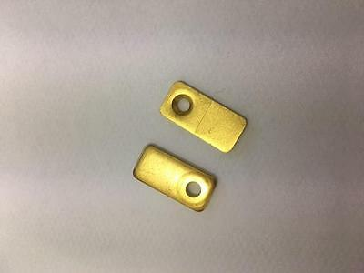 Picture Frame Brass Finish Turn Button / C01053