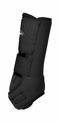 Tough 1 Economy Vented Front Sport Boots Black Medium New