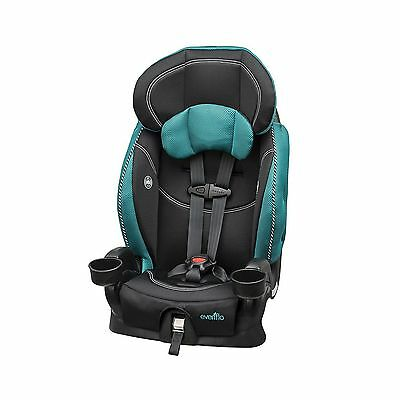 Evenflo Chase LxHarnessed Booster Car Seat Asher teal, black New