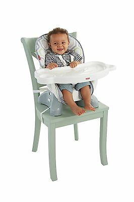 Fisher-Price SpaceSaver High Chair - Geo Meadow New