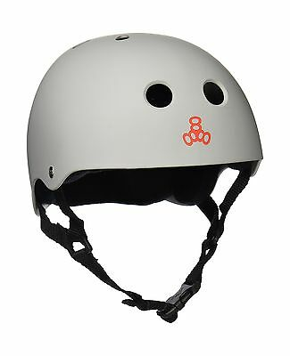 Triple Eight 1217 Elliot Sloan Pro Model Helmet Off-White Large New