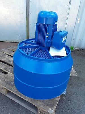 Large Fan Blower Unit 1.5Kw 3 Phase Flameproof Motor 620mm Dia Outlet *