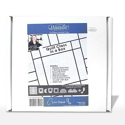 Quilting Patchwork Sewing Templates WESTALEE Quilt in a box 7 Rulers/Template...