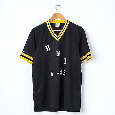 MAJESTIC Youth Baseball Jersey in Black Size XL Kids Boys Sports T-Shirt Top