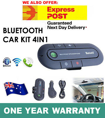 Wireless Bluetooth Handsfree Car Kit Speakerphone Speaker For iPhone 6S 7 7 Plus