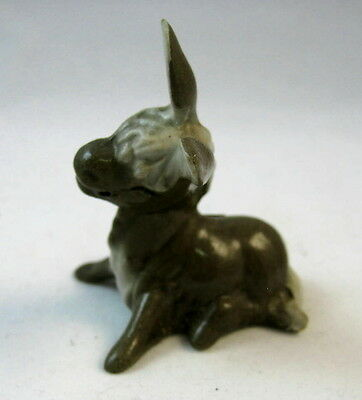 Hagen Renaker miniature made in America Donkey Mama Seated retired