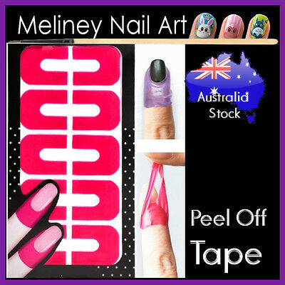 Peel off tape Nail Protector Polish Liquid Latex Nail Art Tool Sticker Adhesive