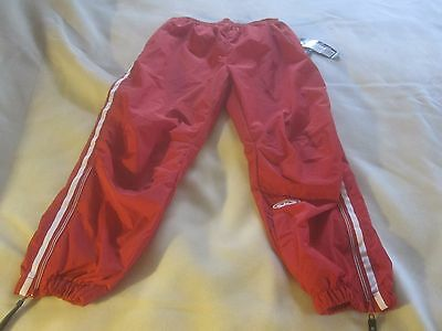 Easton Kids Energy High Performance Wind Pant Red/White YL/XL New with Tags~2552