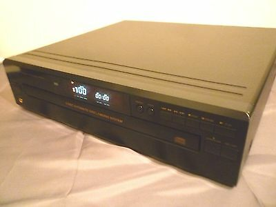 Denon 5 Disc Cd Player Dcm-270 Fully Working Sounds Nice   - Multi Carousel