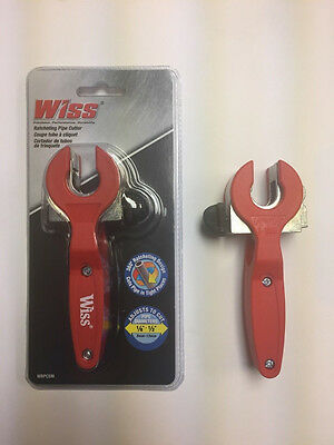 """Wiss Ratcheting Pipe Cutter 1/8""""-1/2"""""""