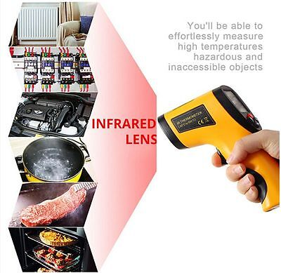 Home Digital Non-contact IR Infrared Temperature Thermometer for People Food