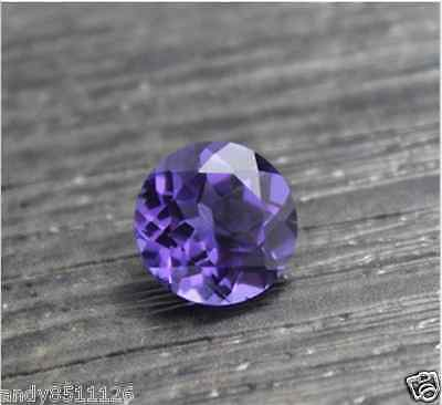 Unheated 6.67Ct Purple Sapphire 10Mm Top Round Shape Aaaa+ Loose Gemstones