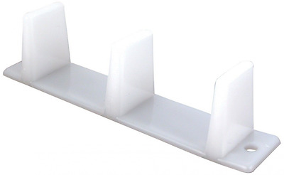 Prime-Line Products N 6563 Sliding Closet Door Bottom Guide, 4-3/16 in., Plastic