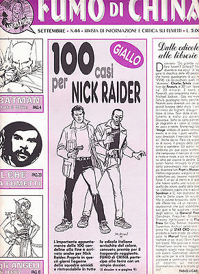 FUMO DI CHINA N°  44 con Nick Raider
