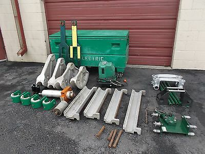 Greenlee 881 bender, 980 Hydraulic pump,  1813 table Very Good COND