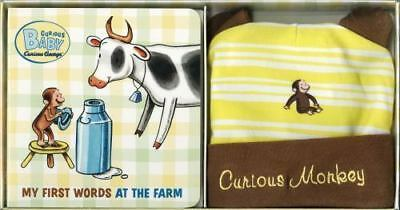 Curious Baby Curious George: My First Words at the Farm Set by H. A. Rey (2010,