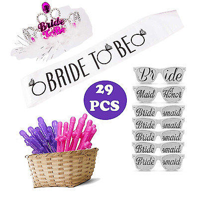 Premium Bachelorette Party Supplies Kit ? Bridal Shower Favors, Gifts And Hen