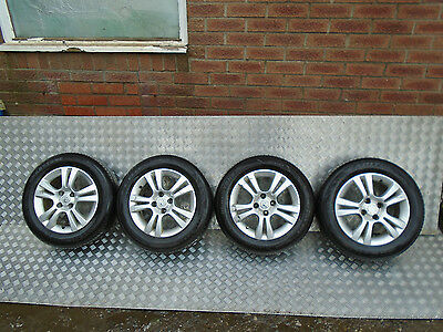 Vauxhall Corsa D 16* 4 Stud Alloy Wheels With Tyres