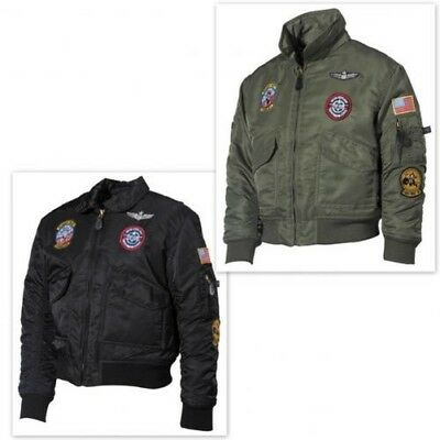 US Children Pilot Jacket CWU Aviator badge Bomber Jacket Aviator Jacket jacket