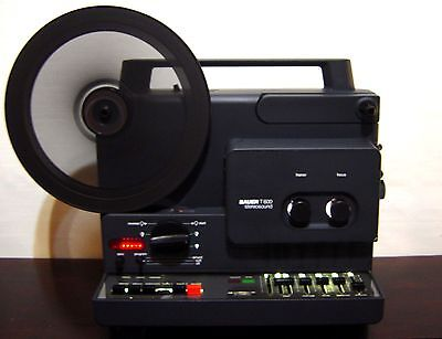 Bauer T600 STEREOSOUND Super 8mm  MOVIE PROJECTOR