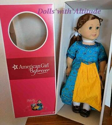 NEW IN BOX American Girl Felicity Doll & Book
