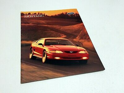 1998 Ford Mustang Brochure