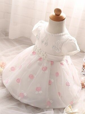 Fiona Ivory Formal Dress Baby Flower Girl Party Gown Christening Baptism Wedding