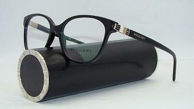 Bvlgari BV 4105 501 Black Glasses Brille Glasses Eyeglasses Frames Size 54