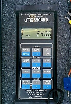 Omega CL23A Digital Calibrator and Thermometer