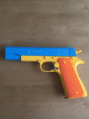 Toy gun M1911 Colt 45 Prop Pistol Costume Toy Gun Rifles Magazine Slide toy guns