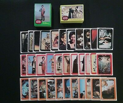 1977 Topps Star Wars Series 3,4  (130/132) EX+ Stickers 3,4,5 (23-55) EX-MT