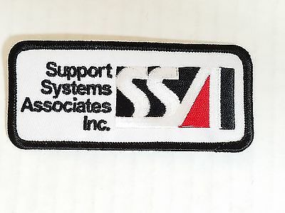 Support Systems Associates Inc Patch Military NEW