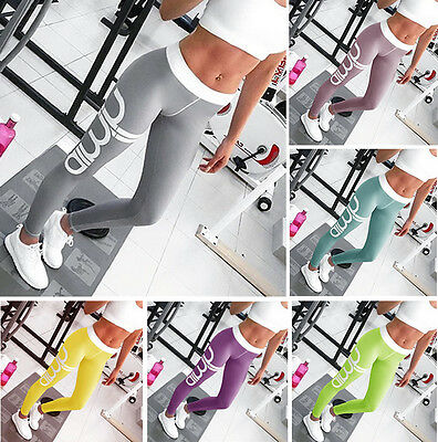 Women's Workout Leggings Fitness Sports Gym Running Yoga Leotards Athletic Pants