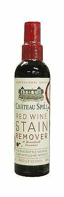 Chateau Spill Red Wine Stain Remover Biodegradable Chlorine Free 4-Ounce ... New