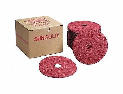 Sungold Abrasives 16902 4-1/2-Inch x 7/8-Inch Center Hole 36 Grit Aluminu... New