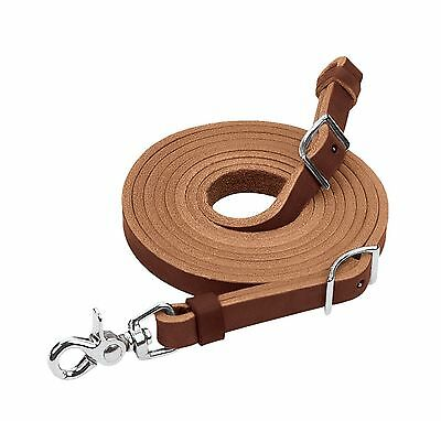 Weaver Leather Horizons Flat Roper Rein Features Scissor Snap and Conway ... New