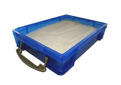 Small Portable Sand Tray with Lid New