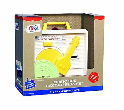 Fisher Price Classics Music Box Record Player New