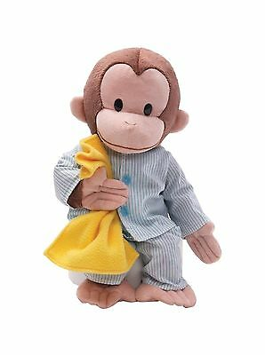 Gund Curious George Dressed in Pajamas 16-Inch Plush Curious George Pajamas New