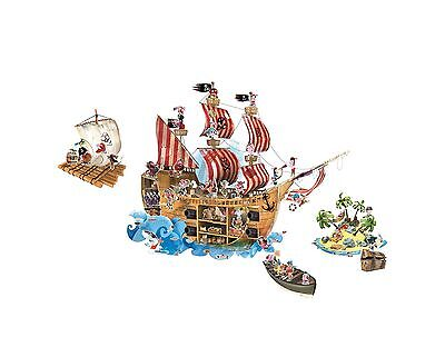 Janod J02849 Magnetistick Pirates Toy New