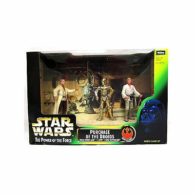 Toy Rocket Star Wars The Power of The Force 3-Pack Movie Scene 4 Inch Tal... New