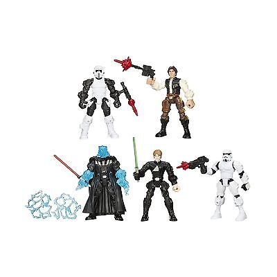 Star Wars Hero Mashers Return of the Jedi Action Figures Set by Hasbro New