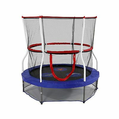 Skywalker Trampolines 60-Inch Round Seaside Adventure Bouncer with Enclos... New