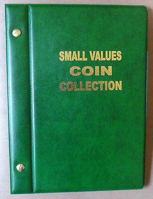 VST COIN ALBUM for 1c,2c,5c,10c COINS 1966 to 2018 MINTAGES Shown - GREEN Colour