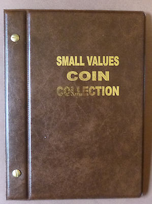 VST COIN ALBUM for 1c,2c,5c,10c COINS 1966 to 2018 MINTAGES Shown - BROWN Colour