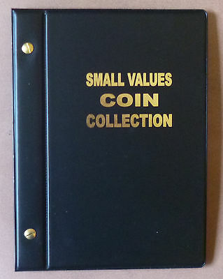 VST COIN ALBUM for 1c,2c,5c,10c COINS 1966 to 2018 MINTAGES Shown - BLACK Colour