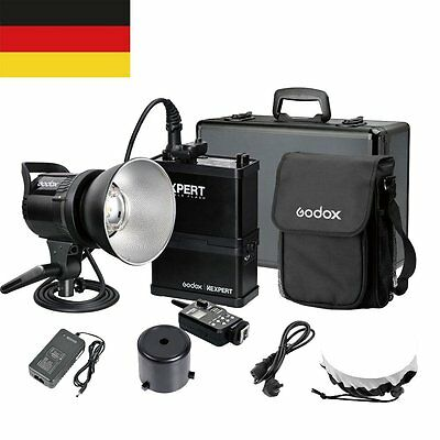 DE Godox RS600P Li-on 600W Portable Studio Flash Strobe Light+FT-16 Trigger Kit