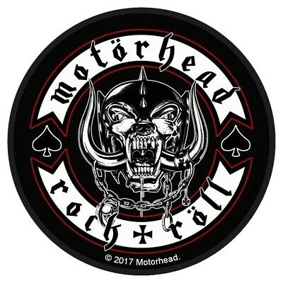 Motorhead Biker Badge Patch Official Metal Rock Band Merch