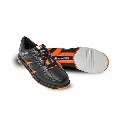 Brunswick Men's Warrior Bowling Shoes Orange 8.5 New